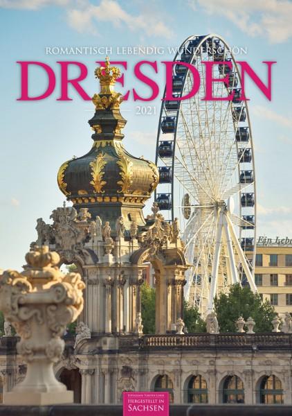 Kalender 2021 - Dresden (Hoch)