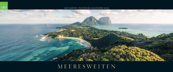 GEO Kalender 2021 - Meeresweiten (Panorama)