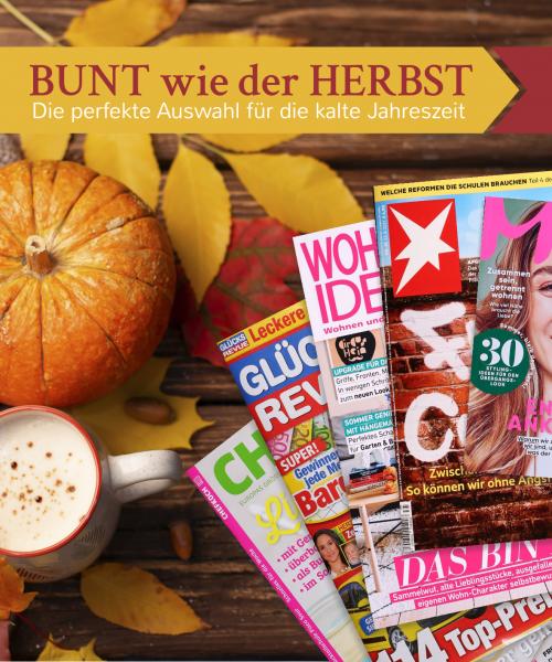"""""""Bunt wie der Herbst""""-Zeitschriftenpaket"""