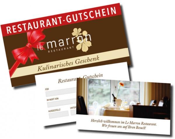 Kulinarische Gutscheine zum Verschenken - Le marron Menden