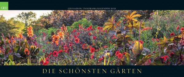 GEO Kalender 2021 - Die schönsten Gärten (Panorama)