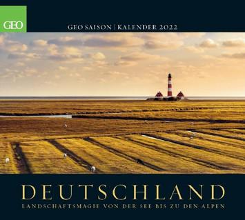 GEO Kalender 2022 - Deutschland
