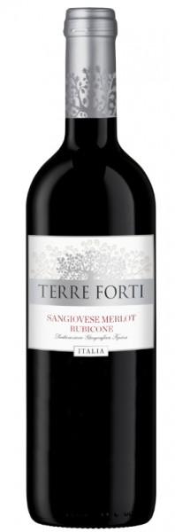 Terre Forti Sangiovese Merlot Rubicone 2016, Italien (Romagna)