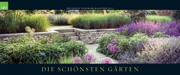 GEO Kalender 2022 - Die schönsten Gärten (Panorama)